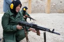 Afganische Polizistinen bei der Ausbildung